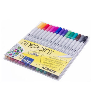 Acrilex Finepoint Markers