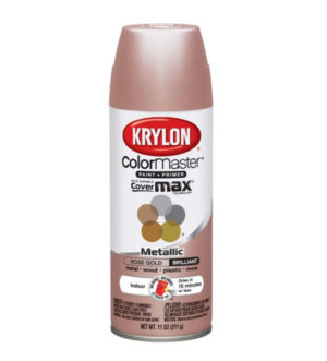 Krylon Color Master Rose Gold Metallic Spray Paint