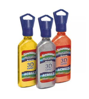 Acrilex 3D Metallic Colour 35ml