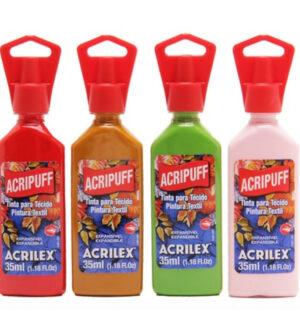 Acrilex Acripuff Fabric Paint 35ml