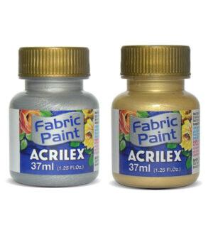 Acrilex Fabric Metallic Paint