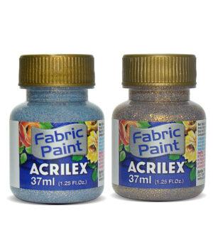 Acrilex Fabric Glitter Paint