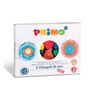 Primo Wax crayon Triangles