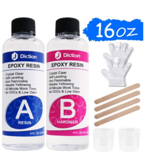 Epoxy Resin Crystal Clear Kit - 530g / 474ml