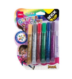 Deli Glitter Glue Set