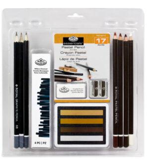 Royal and Langnickel Pastel Pencil Art Set 17pc