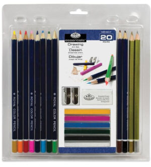 Royal & Langnickel Colour Pencil 20pc Set