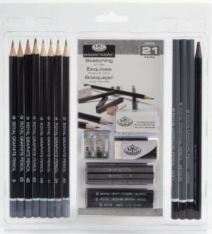 Royal & Langnickel Essentials Sketching Art Set 21pc