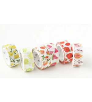 Fresh Fruits Theme Washi Tape