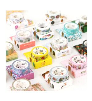 Decorative Washi Tapes 15mm x 7M