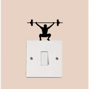 Gym Crossbar Fitness Man